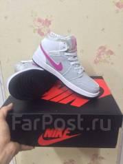 Фирменные Кожаные Женские Кроссовки Nike Air Jordan 3 Retro 398614 ... fefc5fa4041