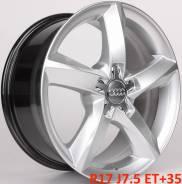 Audi. 7.5x17, 5x112.00, ET35, ЦО 66,6мм.