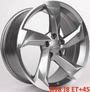 Audi. 8.0x18, 5x112.00, ET45, ЦО 66,6мм.