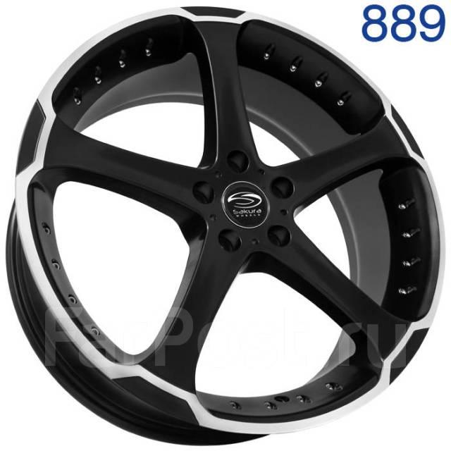 Sakura Wheels R519. 8.0x20, 5x112.00, ET40, ЦО 73,1мм.