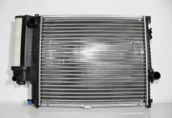 Радиатор охлаждения двигателя. BMW 5-Series, E39 M52B20, M52B25, M52B28