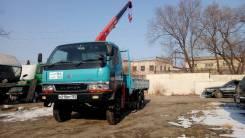 Mitsubishi Canter. Mitsudishi canter 4WD мостовой рессорный с крановой установкой, 4 600 куб. см., 3 000 кг.