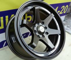 RAYS VOLK RACING TE37. 7.0x15, 4x100.00, 4x114.30, ET30, ЦО 73,1мм.
