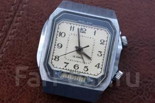 Механические часы Полет с будильником времен СССР. Оригинал