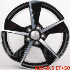 Audi. 9.5x20, 5x130.00, ET50, ЦО 71,6мм.