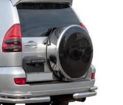 Колпаки запасного колеса. Toyota Land Cruiser Prado, TRJ120W, RZJ120W, GRJ120, VZJ121W, TRJ120, GRJ125W, KDJ120W, GRJ121W, LJ120, GRJ120W, KDJ121W, VZ...