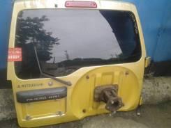 Дверь багажника. Mitsubishi Pajero Mini, H58A Двигатель 4A30