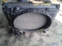 Радиатор охлаждения двигателя. Toyota Granvia, KCH16, KCH16W Двигатель 1KZTE