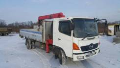 Hino Ranger. Продам HINO Ranger с манипулятором, 8 000 куб. см., 5 000 кг.