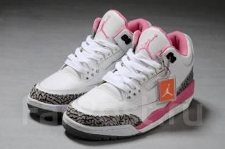 Брендовые Женские Кожаные Кроссовки Nike Air Jordan 3 Retro 441140 506.  662. 3 600₽. Кроссовки. 36, 37, 38, 39, 40. Под заказ 8387fb2309b