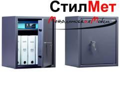 Сейф металлический взломостойкий TSN.50 (ВхШхГ) 500x435x360