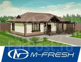 M-fresh Fit Terrace! -зеркальный (Фундаментная плита, холодный чердак). 100-200 кв. м., 1 этаж, 3 комнаты, бетон