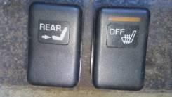 Кнопка включения обогрева сидений. Toyota Crown Majesta, GS151, JZS151, JZS153, JZS155, JZS157, LS151, UZS151, UZS155, UZS157 Toyota Crown, GS151, GS1...