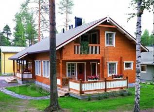 Проект двухэтажного дома площадью 144 м2. дерево