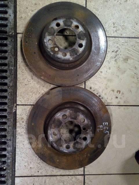 Диск тормозной. BMW 7-Series, E65 Двигатель N62B44