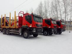 Iveco Trakker. Ивеко АМТ 633920 сортиментовоз, 13 000 куб. см., 25 000 кг. Под заказ