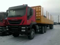 Iveco Trakker. тягач 6х6, 12 988 куб. см., 27 000 кг.