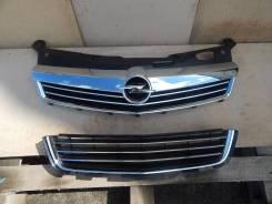 Решетка радиатора. Opel Astra Family Opel Astra Двигатели: A16LET, A16XER, A17DTJ, A17DTR, A18XER, Z12XEP, Z13DTH, Z14XEL, Z14XEP, Z16LET, Z16XE1, Z16...