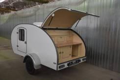 Самодельная модель. Кемпер, дом на колесах, капля, 1 000 куб. см. Под заказ