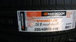 Hankook Ventus S1 Noble2 H452. Летние, 2015 год, без износа, 4 шт