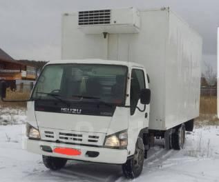 Isuzu. Срочно продам NQR71 грузовик будка-рефрижератор 5-тонник, 4 700 куб. см., 5 000 кг.