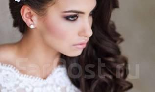 Свадебный макияж + прическа от 2000р Выезд на дом!
