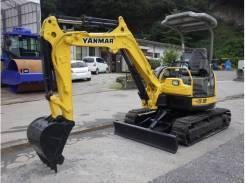 Yanmar. VIO-30 экскаватор, ковш 0.15 кубов, доп. гидролиния, железо. Под заказ