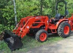 Kioti. Трактор CK3510 с ковшом, 35 л.с.