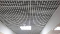 Установка потолков грильятто, амстронг, реечные