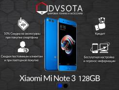Xiaomi Mi Note 3. Новый, 128 Гб, Синий