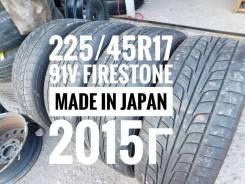 Firestone Firehawk Wide Oval. Летние, 2015 год, износ: 20%, 4 шт. Под заказ