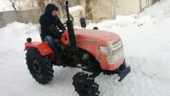 """Уралец. 2 Мини трактор """"уралец 220 4х4 блок гур, 22 л.с. (16,2 кВт)"""