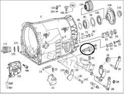 Ручка переключения автомата. Mercedes-Benz: S-Class, G-Class, CLK-Class, M-Class, SLK-Class, CL-Class, E-Class, SL-Class, C-Class, A-Class Двигатели...