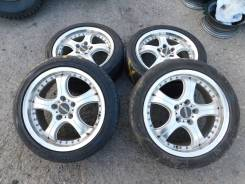 Diavoletto R17 5*114.3 7J ET52 + 225/45R17 91V Firestone Made in Japan. 7.0x17 5x114.30 ET52