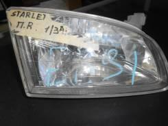 Фара. Toyota Starlet, EP91, EP95, NP90 Двигатели: 1N, 4EFE