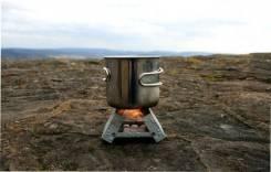 Складная мини-печка