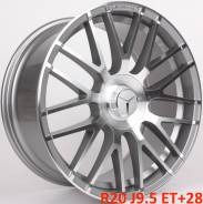 Mercedes. 9.5x20, 5x112.00, ET28, ЦО 66,6мм.