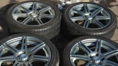 """Комплект колес. Bridgestone BEO 17*8 JJ (+30), Yokohama 225/60R17. 8.0x17"""" 5x114.30 ET30 ЦО 73,0мм."""