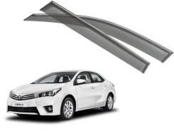 Ветровик на дверь. Toyota Corolla, NDE160, NDE180, NRE160, NRE180, ZRE161, ZRE181, ZRE182 Двигатели: 1NDTV, 1NRFE, 1ZRFAE, 1ZRFE, 2ZRFE. Под заказ