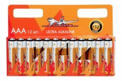 Батарейки LR03/AAA щелочные 12 шт. (AAA-12) [113658]