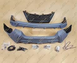 Обвес кузова аэродинамический. Toyota Fortuner