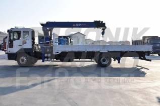 Daewoo Novus. Продам Новый грузовик с крановой установкой , 7 640 куб. см., 7 000 кг.