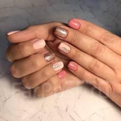 Наращивание ногтей/ покрытие гель-лаком
