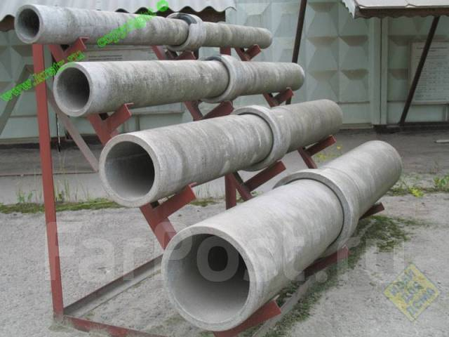 труба из бетона