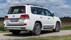 Накладка на бампер. Toyota Land Cruiser, GRJ200, J200, URJ200, URJ202, URJ202W, UZJ200, UZJ200W, VDJ200 Двигатели: 1URFE, 1VDFTV