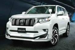 Обвес кузова аэродинамический. Toyota Land Cruiser Prado, GDJ150L, GDJ150W, GDJ151W, GRJ150L, TRJ150L, TRJ150W Двигатели: 1GDFTV, 1GRFE, 2TRFE. Под за...