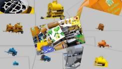 СтройДом МСК-700. Мобильный завод на шасси строительного материала и бетонов, 0,70куб. м.
