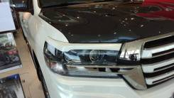 Накладка на фару. Toyota Land Cruiser, URJ202, URJ202W, VDJ200 Двигатели: 1URFE, 1VDFTV. Под заказ