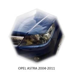 Ресницы на фары OPEL Astra 2004-2011г