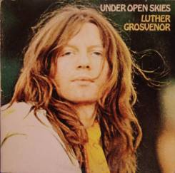 """Винил Luther Grosvenor (Spooky Tooth) """"Under open skies"""" 1971 USA"""